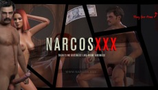Narcos XXX gangster sex game