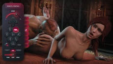Sex World 3D with a long tongue in the pussy