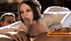 VRFuckBabes gameplay with mouthful fuck