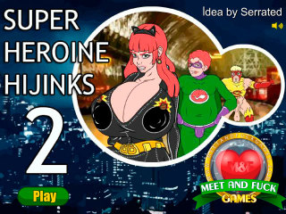 Meet and Fuck mobile game Super Heroine Hijinks 2