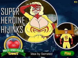 Meet and Fuck games download Super Heroine Hijinks