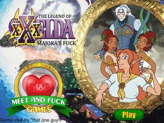 Meet and Fuck mobile game The Legend of XXXelda Majoras Fuck