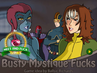 Meet and Fuck Android game Busty Mystique Fucks